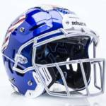 F7 Football Helmet - Front/Side View