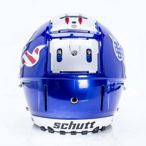 F7 Football Helmet - Back View