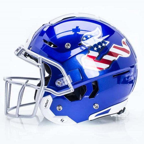 F7 Football Helmet - Side View